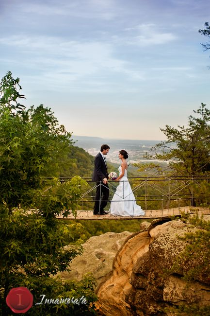 Karen Frederico Photo By Innamorata Grandview Wedding Georgia Lookout Mountain Rock City Access To Gardens Pinterest