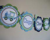 cute train theme