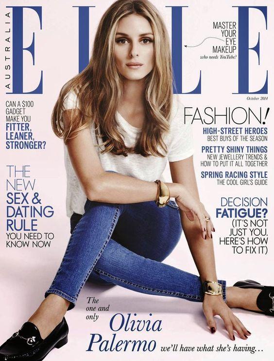 The Olivia Palermo Lookbook : Olivia Palermo for ELLE Australia October 2014