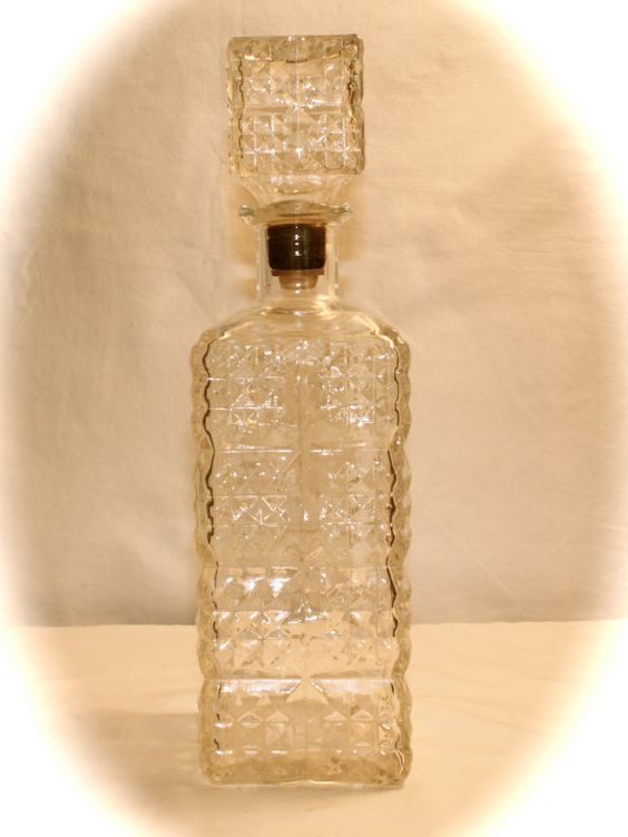 Vintage Whiskey Decanters 45