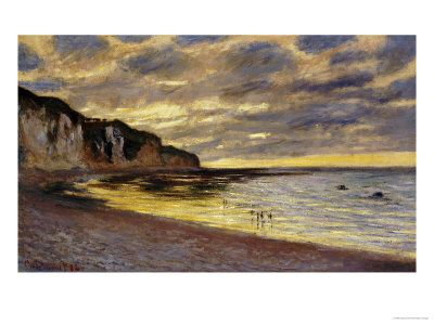Pointe de Lailly, Maree Basse, 1882 Giclée-Druck