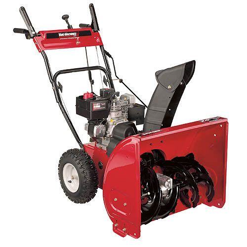 Recomeneded Yard Man 31as6bee700 5 5 Hp Two Stage 5 5 Hp 24 In Snow Blower Hp Second Snow Yard