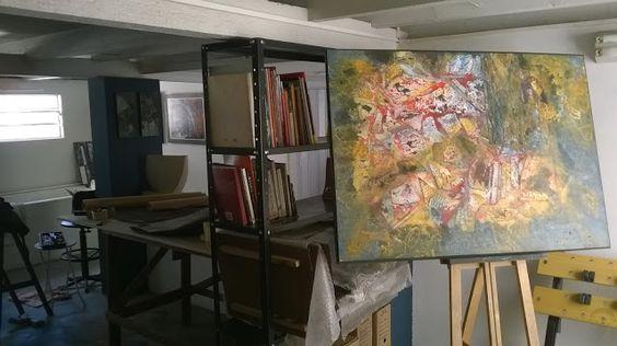 PORÃO ABAIXO: Manhã no atelier