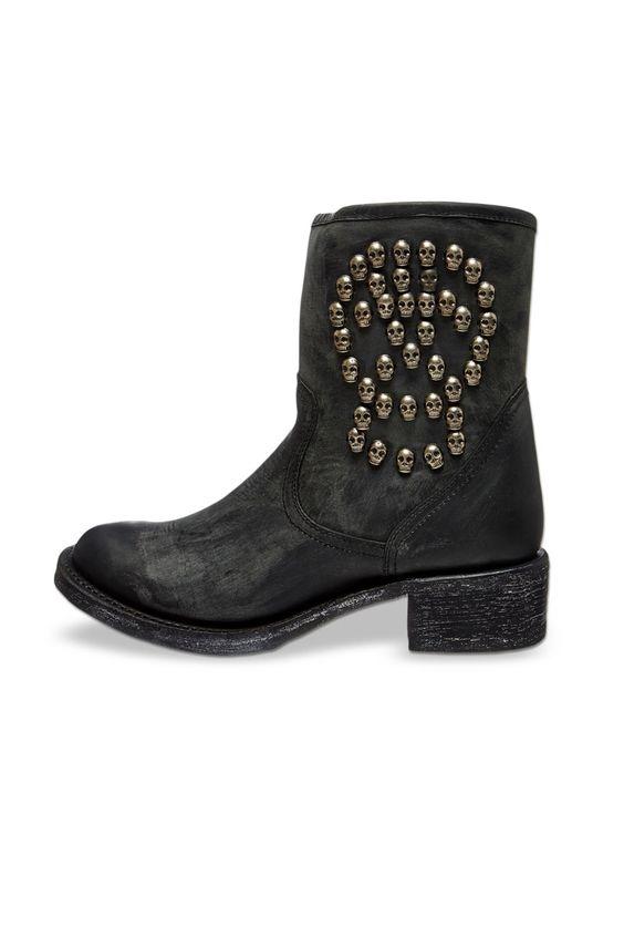 Venda Schott / 13884 / Mulher / Calçado / Botas de couro Preto. 71€(280€)