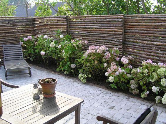 Forskellige haver, haveanlæg, havedesign, anlægsgartner, raftehegn ...