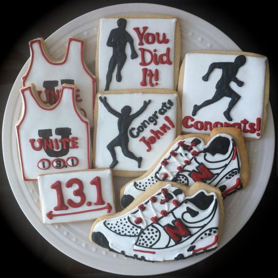 cookies cookies workout and more marathons banquet decorated cookies ...