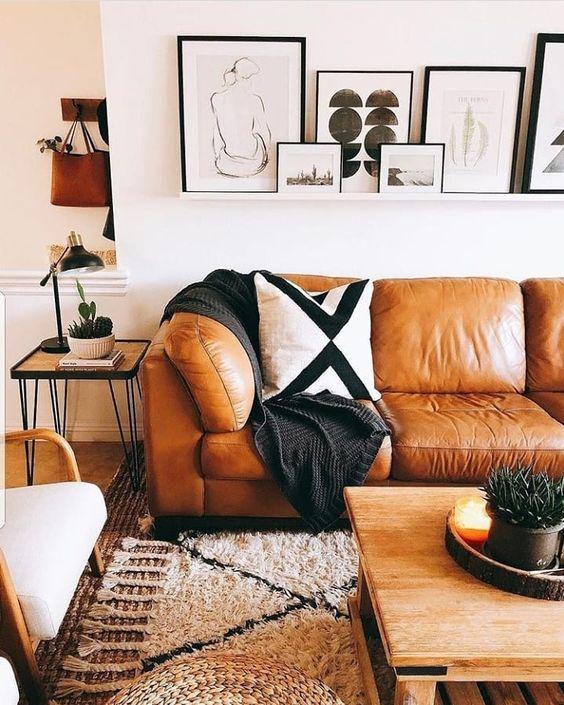 Chọn mua sofa da nhập khẩu cao cấp cho phòng cách theo phong cách cổ điển tại TPHCM
