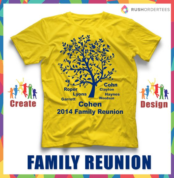 Family Reunion Shirt Design Ideas design ideas for family reunion t shirts Family Reunion T Shirt Ideas Create Your Custom Family Reunion T Shirt For