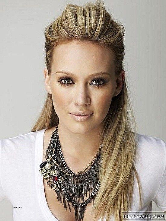 Mahtava Easy Pulled Back Kampaukset Pitkalle Hiuksille Uudet Kampaukset Hair Styles Hillary Duff Hair Hair Beauty