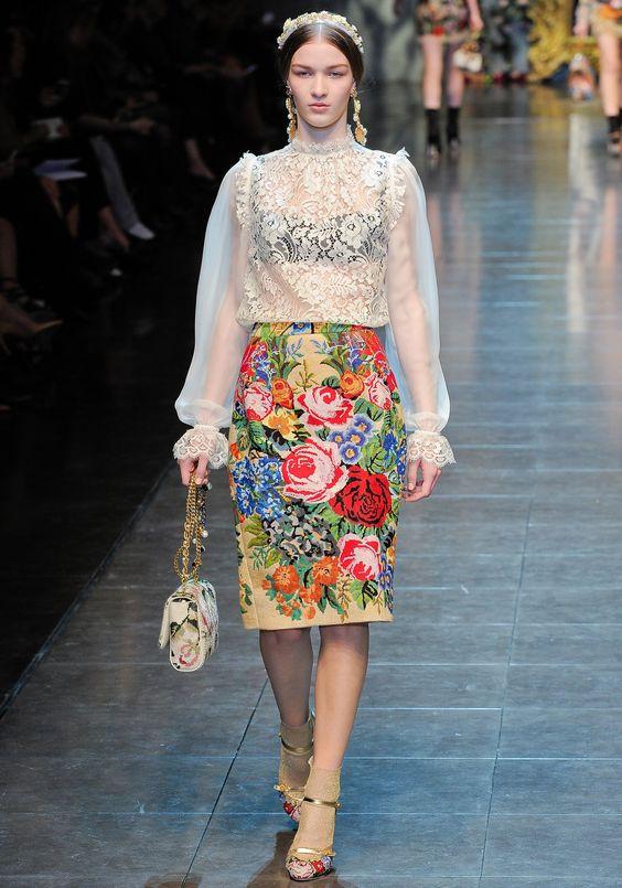Défilé Dolce&Gabbana Automne-hiver 2012-2013 PRÊT-À-PORTER