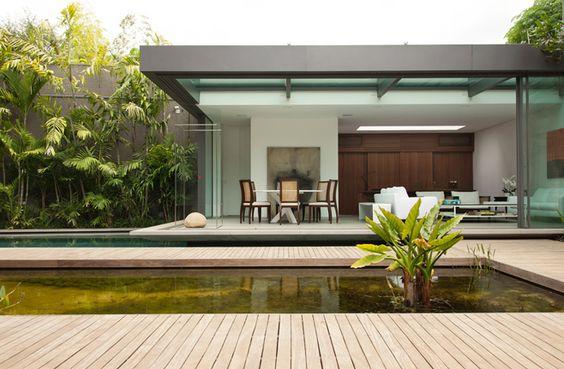 À frente do Azul Arquitetura, Lia Siqueira projeta um anexo de lazer e contemplação em São Paulo; quinto projeto presente no anuário bamboo.