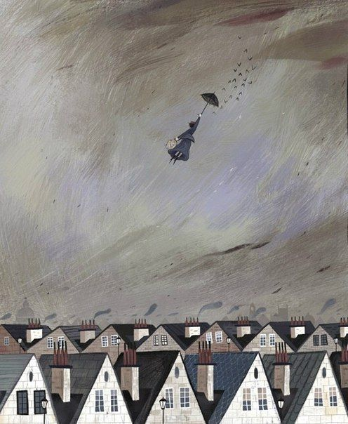«Mary Poppins». Иллюстрации Julia Sarda
