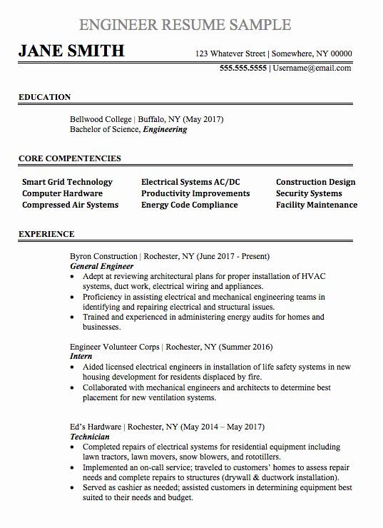 Experienced Mechanical Engineer Resume Unique Mechanical Aerospace Project Design En Engineering Resume Engineering Resume Templates Mechanical Engineer Resume