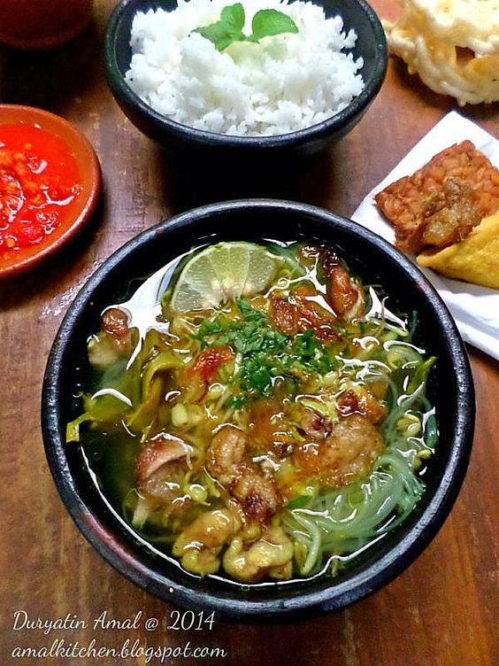 Amal's Kitchen : Simple & Easy Recipes: Soto Ayam Simpel