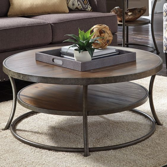 Rolling Coffee Table With Storage: Metal Frames, Products And Storage On Pinterest