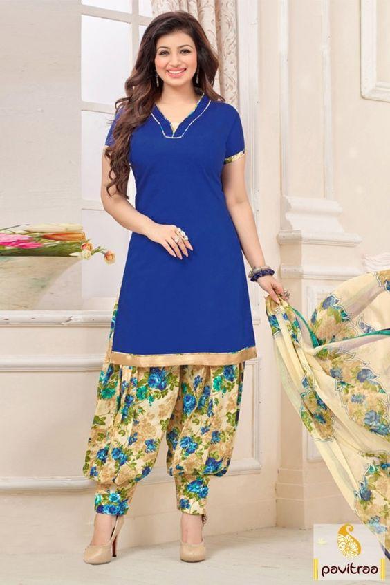 Celebrity Salwar Suit Collar Neck Designs.