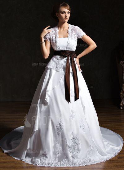 Vestidos de noiva - $210.99 - Vestidos princesa/ Formato A Sem Alças Trem da capela Tafetá Renda Vestido de noiva com Pregueado Cintos Curvado (002011521) http://amormoda.pt/Vestidos-Princesa-Formato-A-Sem-Alcas-Trem-Da-Capela-Tafeta-Renda-Vestido-De-Noiva-Com-Pregueado-Cintos-Curvado-002011521-g11521