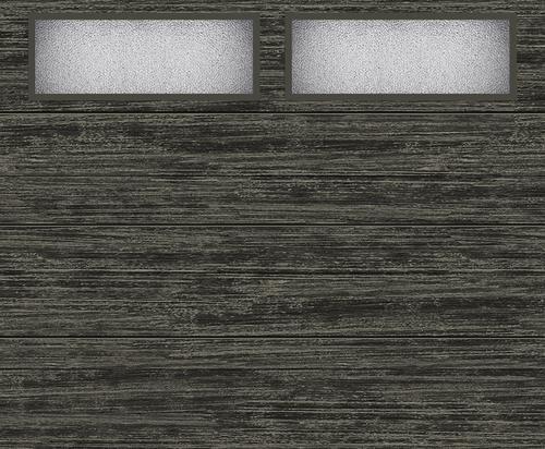 Ideal Door Modern Flush Slate Finish Insulated Garage Door With Windows At Menards Ideal Door R Garage Door Insulation Garage Insulation Garage Door Windows