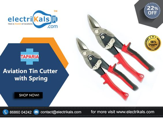#AviationTinCutter - Buy #Taparia ATS10 10mm Aviation Tin Cutter with Spring Online @ electrikals.com #OnlineShopping