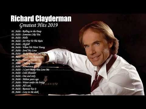 Richard Clayderman Top 25 Best Classic Piano Music Piano Solo Playlist Musican Playlist Youtube Best Songs Music For Studying Songs