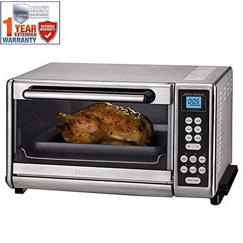 Cuisinart Toaster Oven Broiler Brushed Stainless Cto 140pcfr Certified Refurbished With 1 Cuisinart Toaster Oven Convection Toaster Oven Toaster Oven Reviews