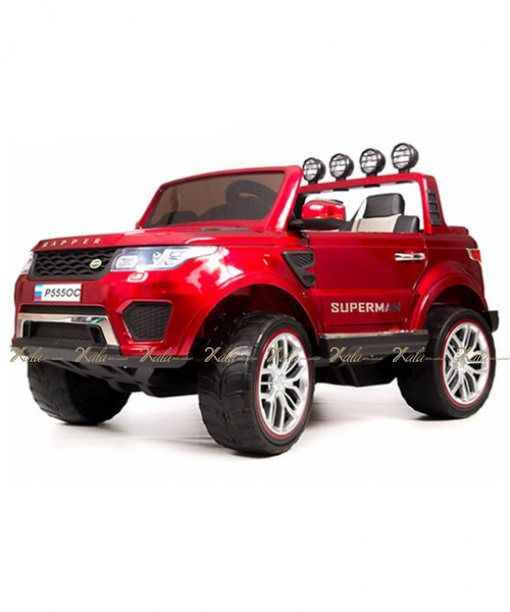 2xkala Ir ماشین شارژی چهار موتوره Toy Car Range Rover Suv Car
