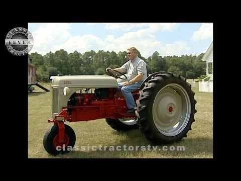 Pin On Ford Tractors Classic Tractor Fever