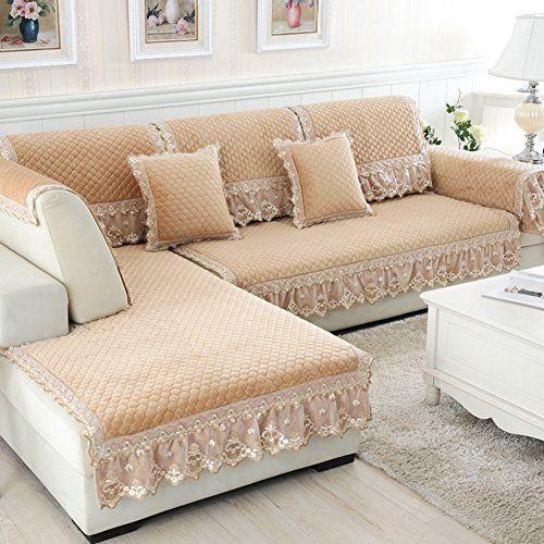 Sofa Cushions Plush Thickening Fabric