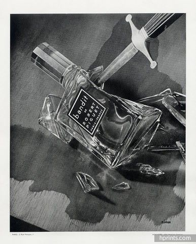 Robert Piguet (Perfumes) 1947 Bandit