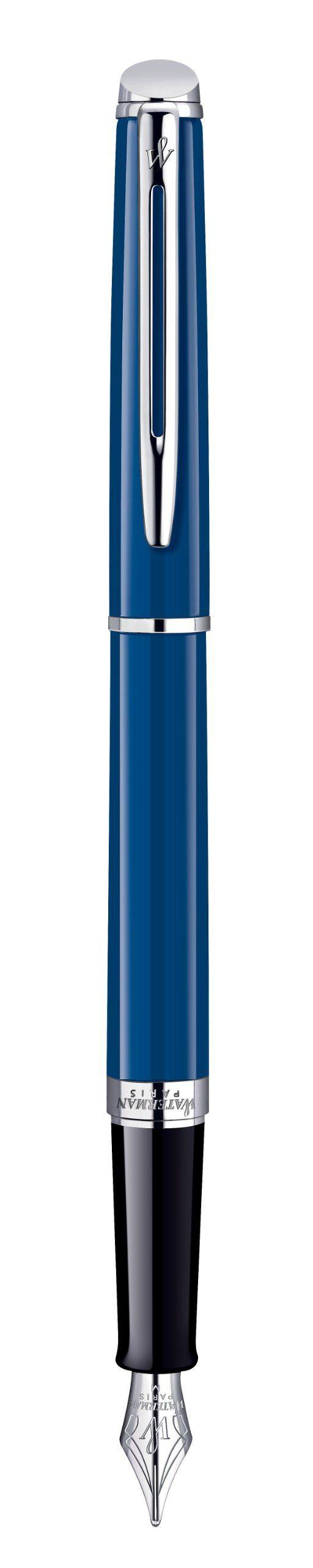 Waterman Hemisphere Blue Obsession Füllfederhalter M: Amazon.de: Bürobedarf & Schreibwaren