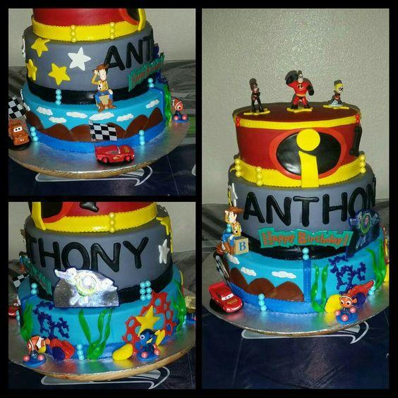 Pixar cake