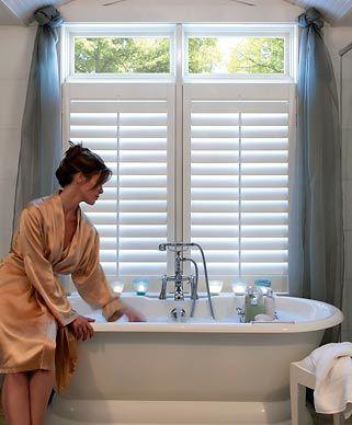 Bathroom window treatments bali blinds bathroom pinterest window treatments master bath for Blinds for bathroom window treatments