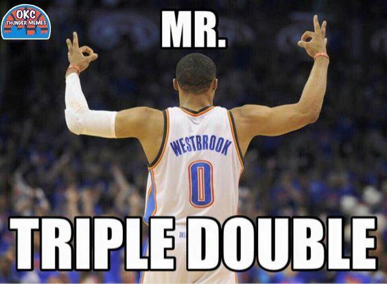Russell Westbrook aka Mr. Triple Double