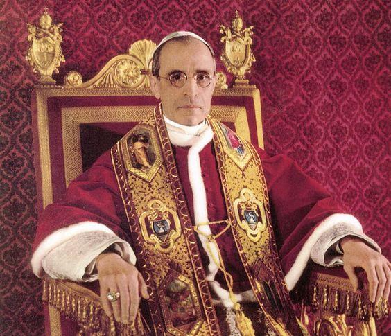 Missa Gregoriana em Portugal e no Mundo: FOTOS DO VENERÁVEL PAPA PIO XII