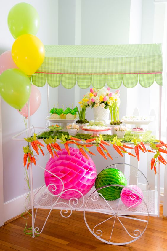 Easter brunch party designed and styled by A Lively Affair.