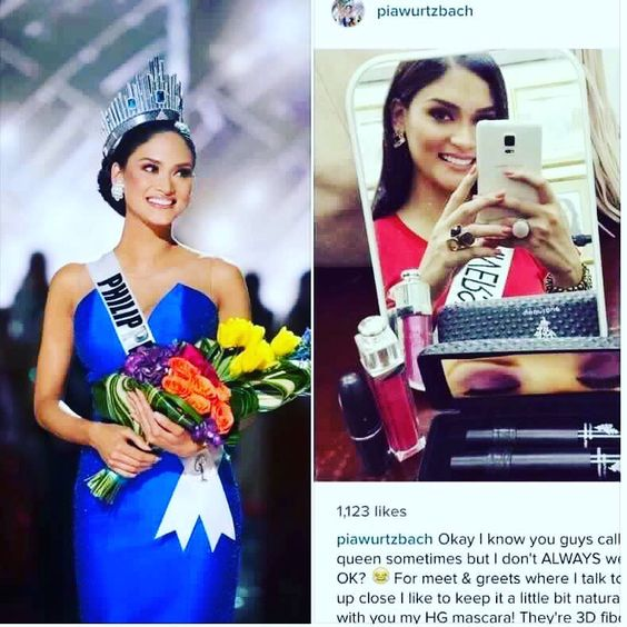 Even Miss Universe loves her Younique!! You will, too!