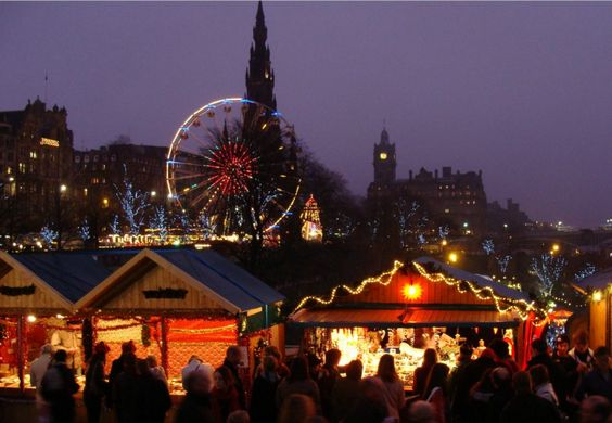 Edinburgh winter Market