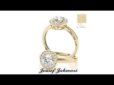خاتم ذهب و الماس Youtube Engagement Rings Rings Jewelry