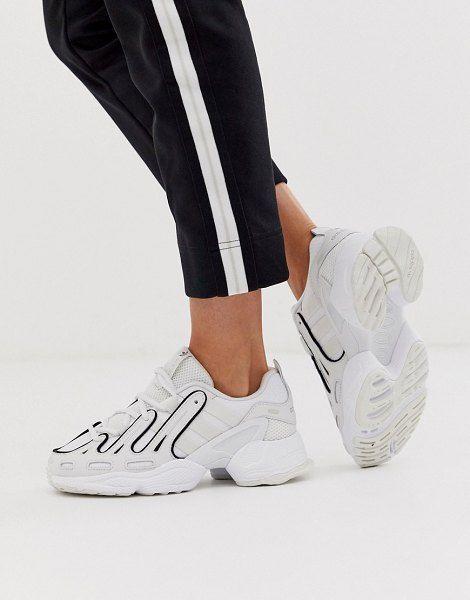 Con qué frecuencia temerario Ópera  adidas Originals Eqt Gazelle Sneakers In White   Adidas, Adidas women,  Adidas originals logo