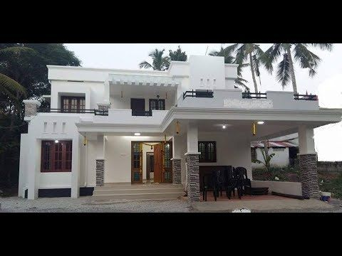 Small Modern Double Floor House 1500 Sft For 15 Lakh Elevation Interior Design Yo In 2020 Kerala House Design Home Building Design Small House Elevation Design