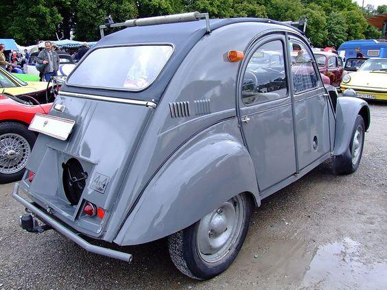Citroën 2CV Sahara – 4x4