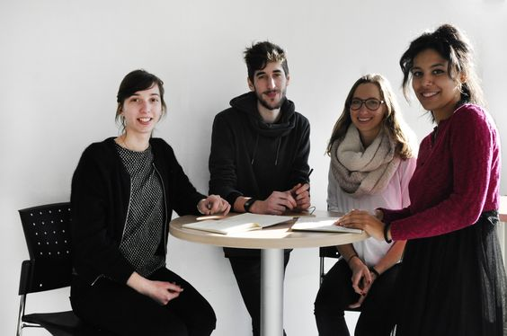 Equipe #1 : Noémie Cadet, Arnaud Juracek, Natalie Hercun, Nora Aguemon