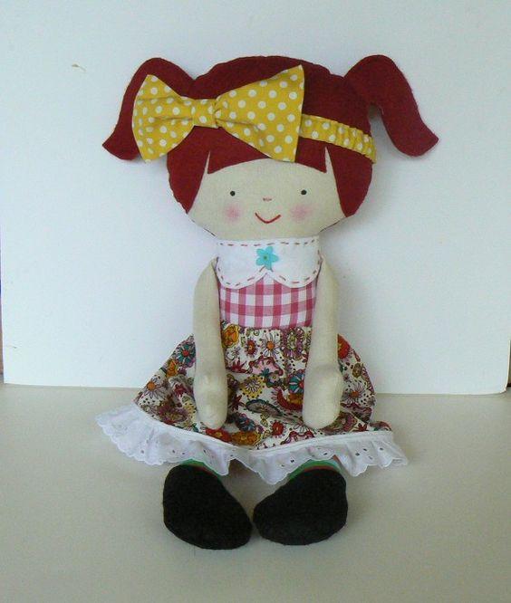 Handmade dolly <3 www.madeit.com.au/sewwhat