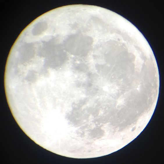 iPhone + Telescope pic of the moon