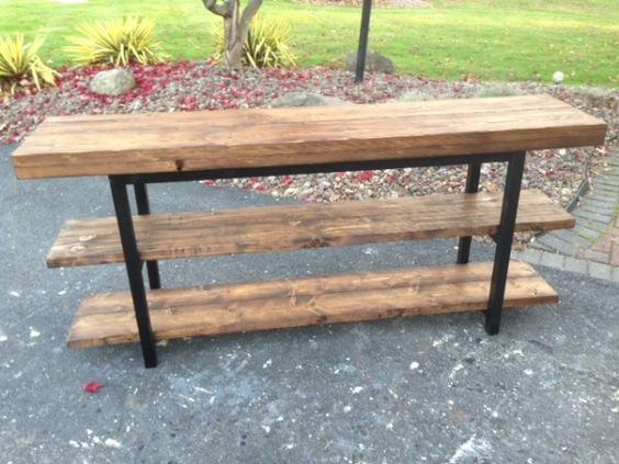 Griffen pottery barn inspired Media Console Table
