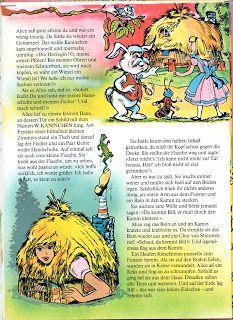 Alice in Wonderland (German version).   Illustrator:  Einar Langerwall, Publisher: Meister Verlag. 1979