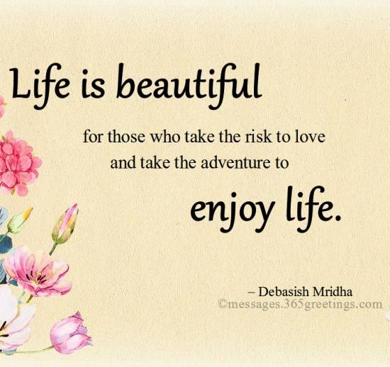 best quotes life is beautiful – Page 249 – BestQuotes
