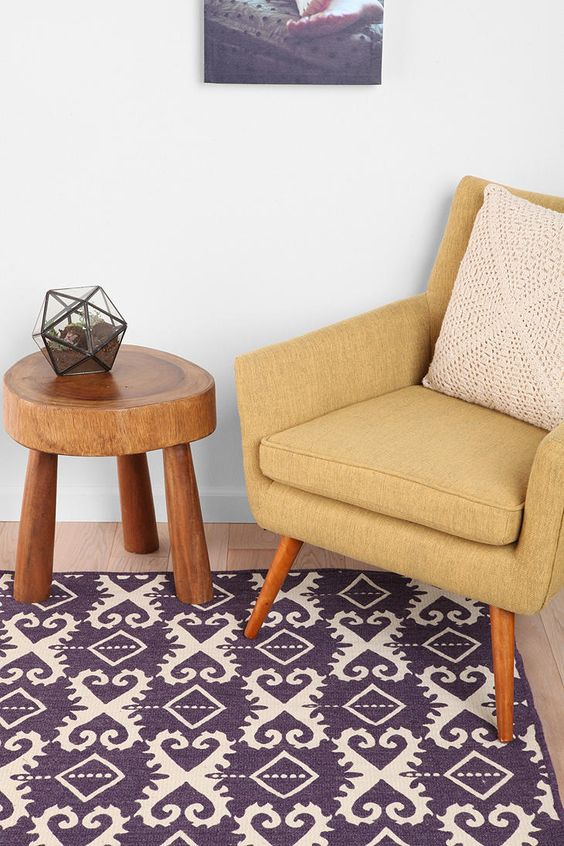Loving this ikat rug hand-crafted in Greece! #urbanoutfitters