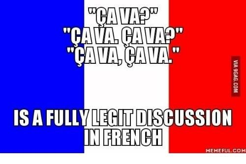 Everyone Who Has Tried To Learn French Has Had To Make Their Peace With These 15 Truths Funny French Learn French French Meme