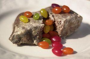 Make Milk Steak With Jelly Beans